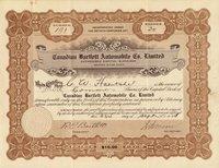 Canadian Bartlett Automobile Ltd. (Canada) 1914 30 shs