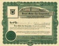 Drexel Motor Car (VA) 1916. #165. 20 shares