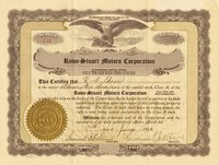 Rowe-Stuart Motors (DE) 1922 12 shares (8)