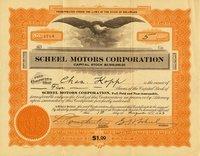 Scheel Motors (DE) 1923. #1714. 5 shares