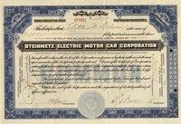 Steinmetz Electric Motor Car (MD) 1922 10 shares