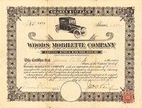 Woods Mobilette. (IL) 1) 1915 Pair (2)