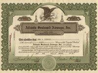 Atlantic Seaboard Airways (MD) 1931 50 shares