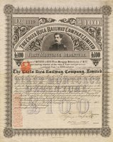 Costa Rica Railway Co. 1886 100 Pds Sterling (4)