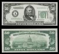 $50 FRN 1934 DGS STAR No.A00009960* Choice Uncirculated