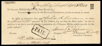CT New Haven State of Connecticut $10 Sept. 30 1864