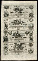 CT East Haddam East Haddam Bank Sheet $1-$2-$3-$4