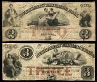 NY New York Merchants' Exchange Bank Altered Notes (4)
