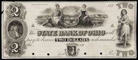 OH State Bank of Ohio $2 1840s