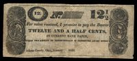 OH Adams Co S Mitchell & Co 12 1/2¢ Jan 1838