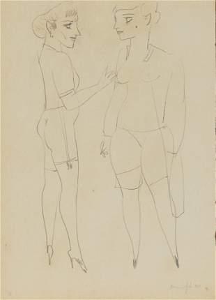 Alberto Manfredi, Due modelle