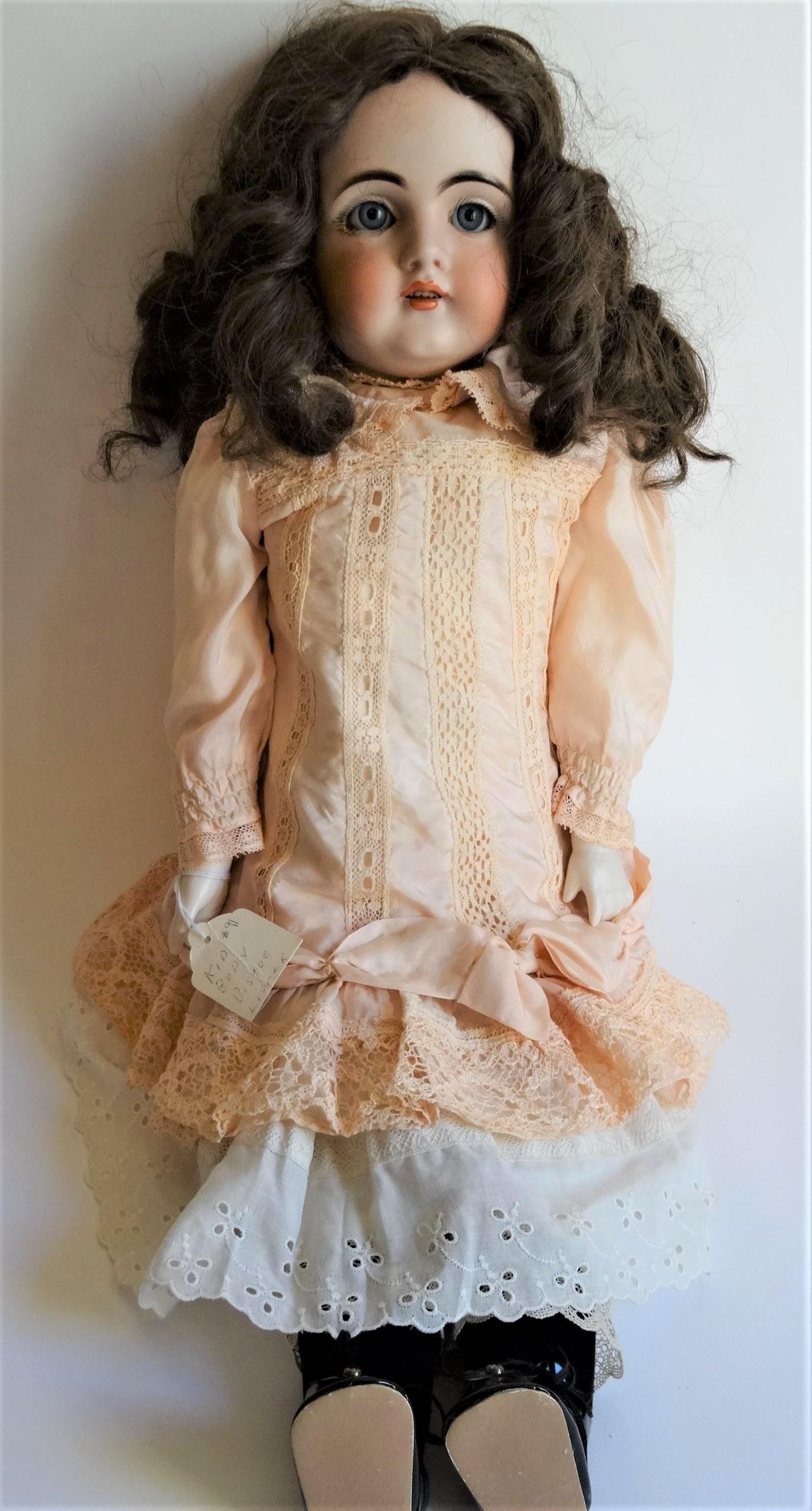 DEP 11 marked 154  bisque antique doll