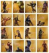 Avengers Marvel Photo Set 32 Robert Downey Jr Signed