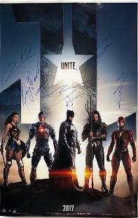 DC Justice League Ezra Miler Henry Cavill Gal Gadot