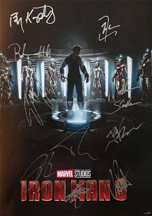 Marvel Exclusive Promotional Poster Iron Man 3