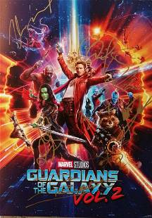Marvel Exclusive Promotional Poster Guardians of