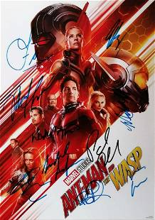 Marvel Exclusive Promotional Poster AntMan and the