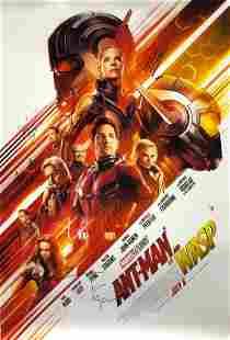 Marvel AntMan the Wasp Poster A Paul RuddEvangeline