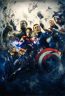 Marvel Avengers Age of Ultron Poster A Chris Evans