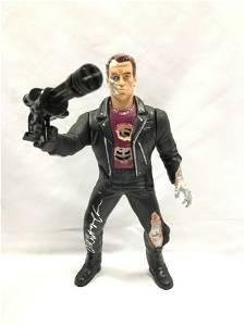 Terminator Rare 90s Figure Autograph Signed