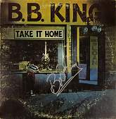 BB King Vinyl Take it Home Signed Autographed