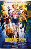 Birds of Prey Margot Robbie Autographed SIGNED Poster