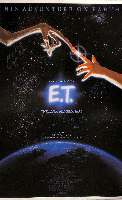 ET Henry Thomas Steven Spielberg A Autographed SIGNED