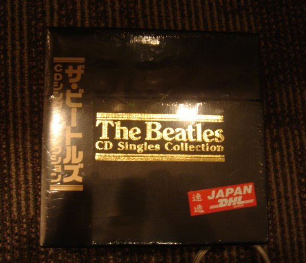 61: BEATLES 1993 JAPANESE 22 CDS BOX  SET