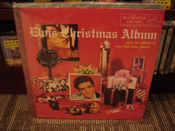 81: ELVIS PRESLEY CHRISTMAS ALBUM