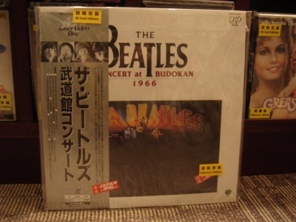 83: THE BEATLES CONCERT AT BUDOKAN 1966 JAPAN LD