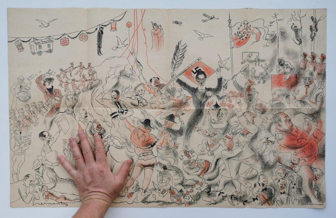 """Battle of Grunwald"" allegory by  Zdzisław"