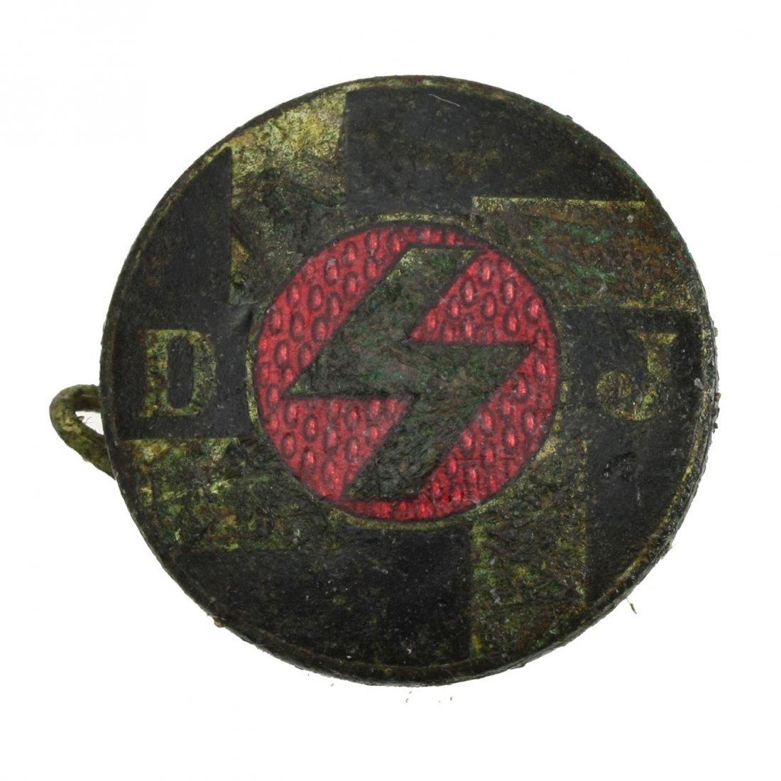 DJ Member Ship Badge. (DJ Mitglied Abzeichen)