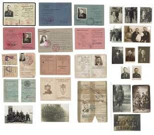 Polish Policeman Documents & Photos 1929- 1947 Set