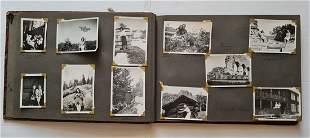 Norwegian 1937-45 Period Civilian Photo Album - 119 Pic