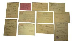 Polish Police Documents Set 1937 - 1939