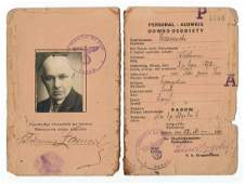 Early Times of Occupation of Poland ID From Radom 1939