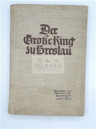 Auschwitz -  Rare Book With Auschwitz Stamp