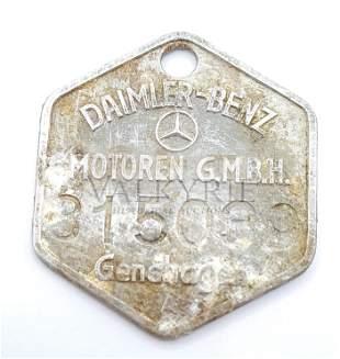 Daimler Benz Factory Ground Dug Token - Genshagen