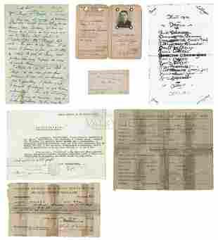 Miranda de Ebro -Imprisoned in Concentration Camp Spain