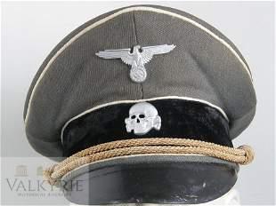 Waffen SS Officer Infantry Visor Cap Schirmmutzen Hat