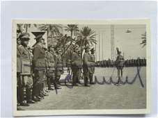 Erwin Rommel Signed Photo