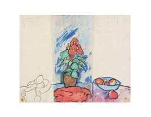 ANA MERCEDES HOYOS (1942-2014)  S/T, 1984  Acuarela