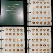 Complete Lincoln cent book 19592010 175 coins