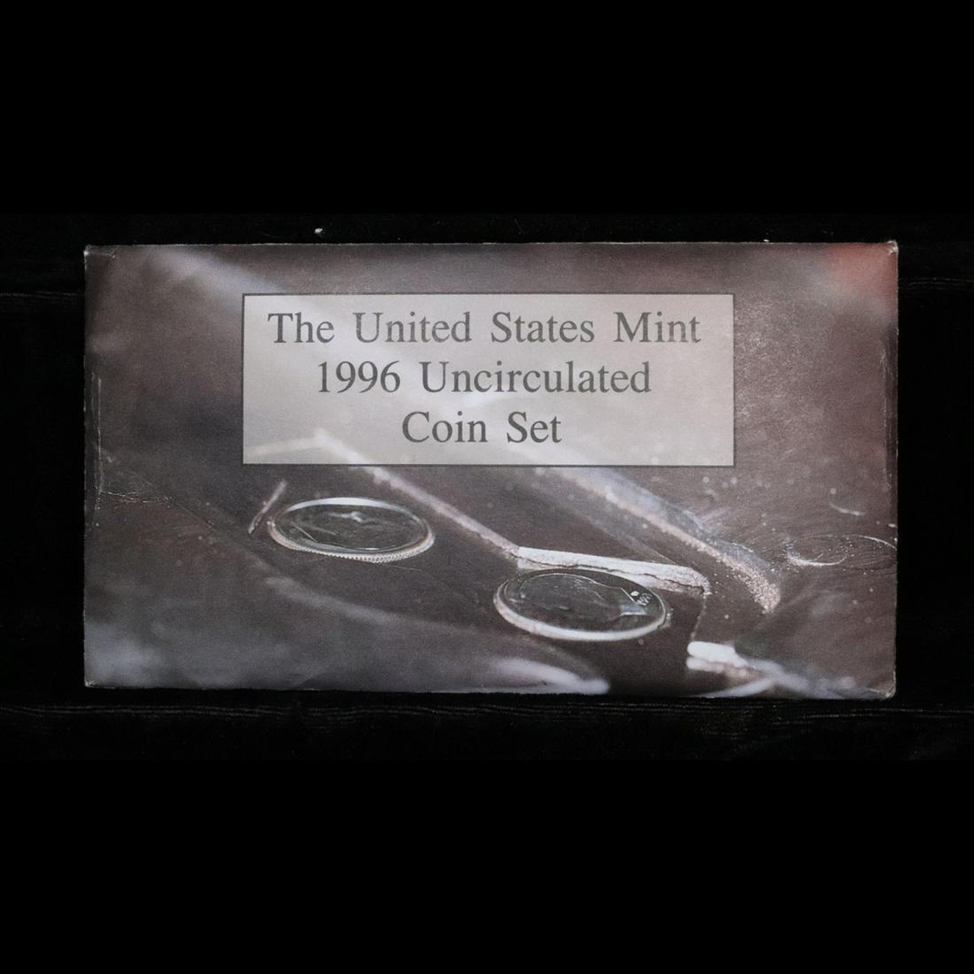 1996 US Mint Set With Special Dime Mint Set Grades