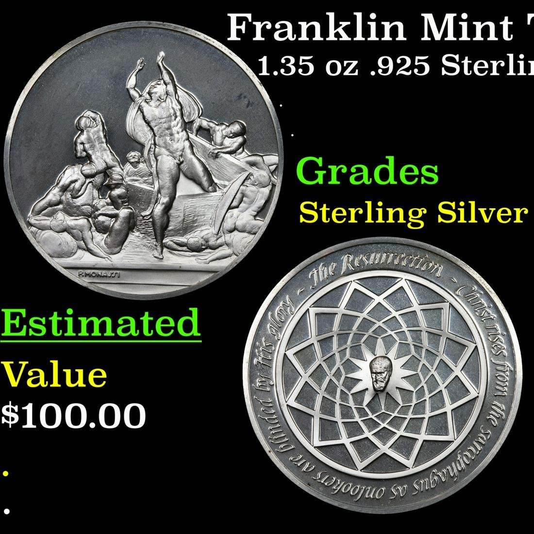 Franklin Mint The Genius Of Michelangelo The