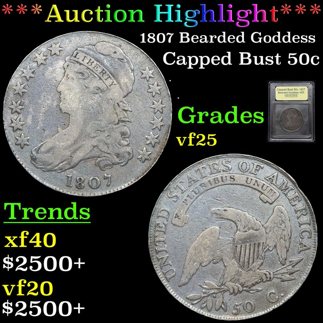 ***Auction Highlight*** 1807 Bearded Goddess Draped