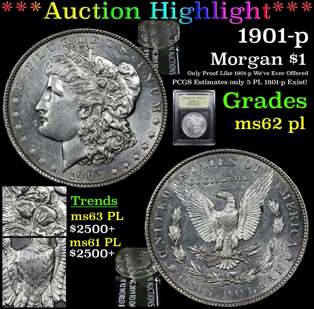 ***Highlight of the Entire Auction*** 1901-p Morgan
