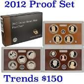 2012 United States Mint Proof Set - 14 pc set