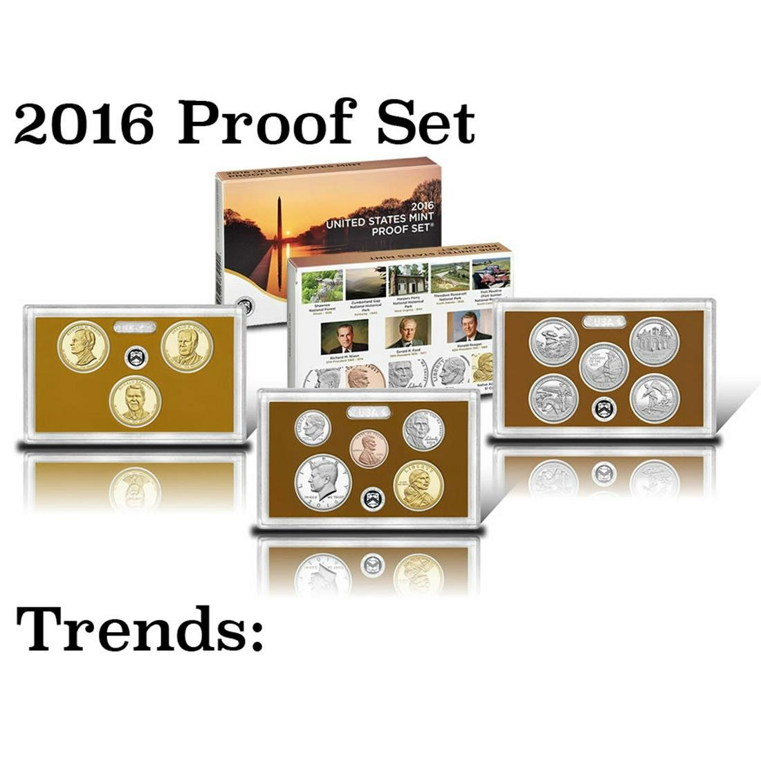 2016 United States Mint, Proof Set  13 coins