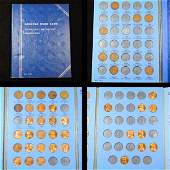 Partial 19411955 Lincoln Cent Book 44 coins